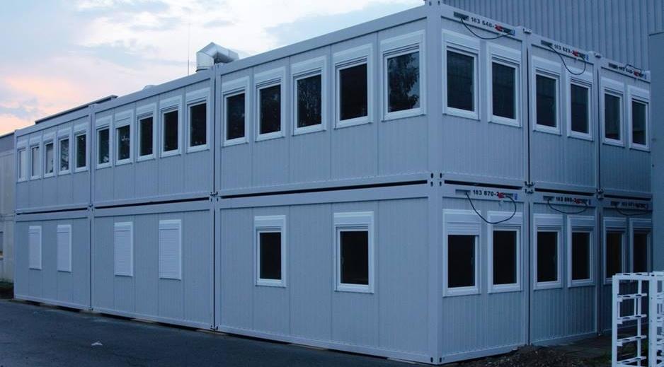 Bürocontainer-Anlage Valeo