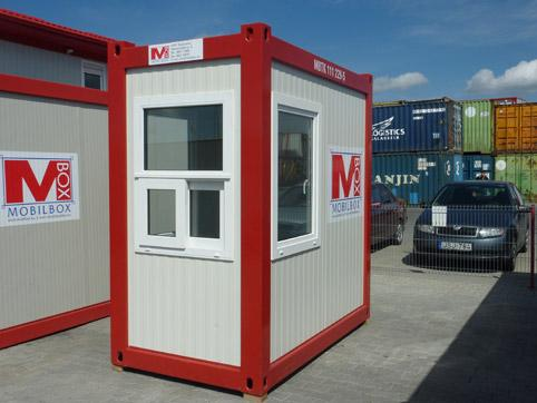 Watchman container, reception container for rent