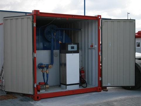 Petrol station containers for rent