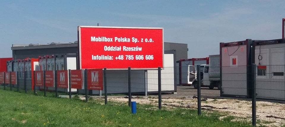 Containers in Rzeszów – a new branch of Mobilbox