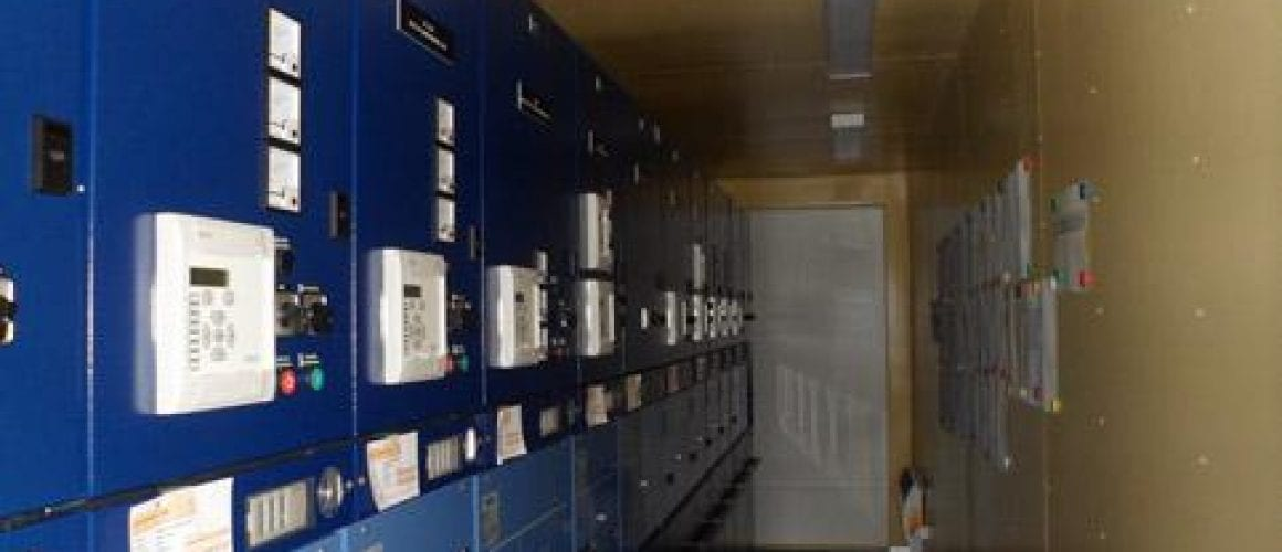 Pomieszczenie kontenerowe