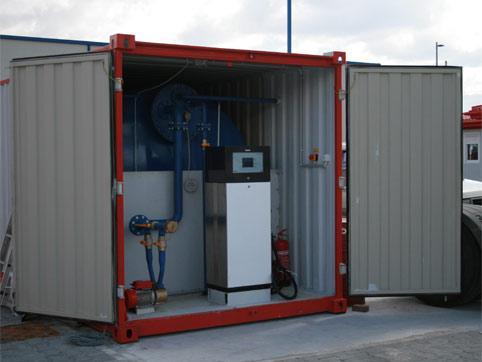Sprzedaż kontenerów - stacja paliw