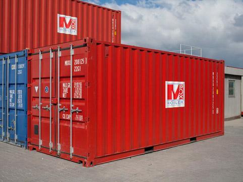 Sprzedaż kontenerów transportowych