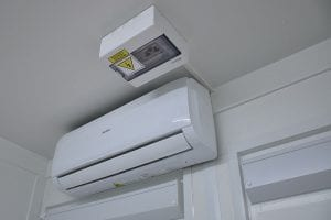 Klimatyzator do kontenerów