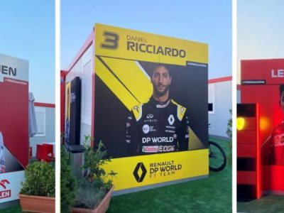 kontenery biurowe na F1